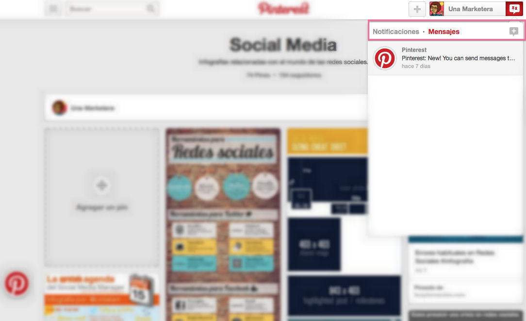 pinterest una marketera